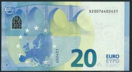 € 20 GERMANY  X001 SERIE XZ007  UNC - EURO