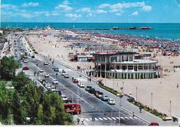 EMILIA ROMAGNA - RIMINI - LA SPIAGGIA - VIAGGIATA1972 - Rimini