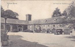 Vierset-Barse - La Cour Du Château (animée, Oldtimer, Automobile, Edit Pauquet-Dubois, 1911)