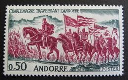 LOT R3586/770 - ANDORRE FRANCAIS - N°167 - Neuf ** - Cote : 14,00 €