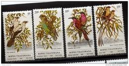 Bophuthatswana, 1980, Birds, MNH