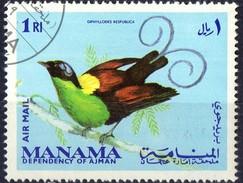 PIA - MANAMA DIPENDENZA DI AJMAN - 1969 : Uccello- (Yv P.A. 54)