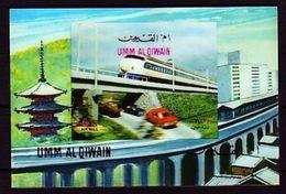 VAE Umm Al Qiwain Michel-Nr. Block 37 3D - Umm Al-Qiwain