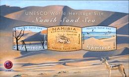NAMIBIA 2015 Namib Sand Sea, Birds, Insects, Fauna MNH