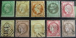 LOT R542/204 - FRANCE - LOT DE TIMBRES CLASSIQUES - Cote : 133,00 €