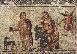 Cyprus, Paphos Mosaic, Hippolytus And Phaedra, House Of Dionysos,.. Mint - Chypre