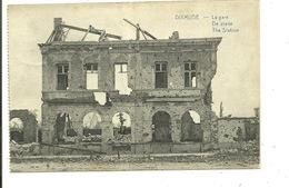 Diksmuide - Dixmude : 1914-1918 Wereldoorlog Station - La Gare - Diksmuide