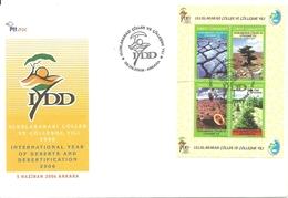 Turkey; FDC 2006 International Year Of Deserts And Desertification