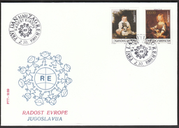 Yugoslavia Zagreb 1989 / Joy Of Europe / Children Meeting / Animals