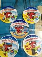 Etiquettes De Boites De Fromages-'' La Vache Qui Rit'' - Fromage