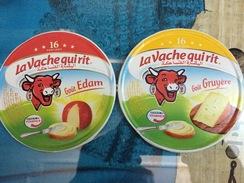 Etiquettes De Boites De Fromages-'' LA VACHE QUI RIT'Gout Edam-Gruyere - Fromage
