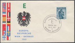 "Austria 1961, FDC Cover ""Europa 1961"" W./postmark ""Wien"", Ref.bbzg"