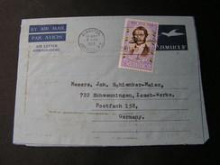 Jamaica Cv. 1972 Aerogramme - Jamaica (1962-...)