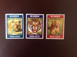 Bangladesh 1974 Tigers MNH