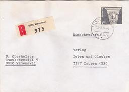 R-Brief Von Wädenswil Nach Laupen (br1023) - Schweiz