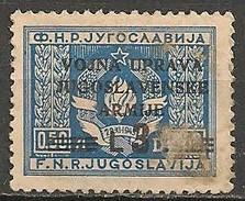 Timbres - Yougoslavie - 1949 - Timbre De Service - L3 - Surchargé. - - Service