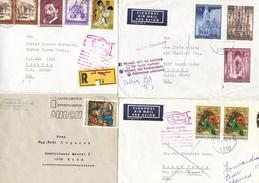ÖSTERREICH  -  Briefe   Und Andere Länder 15 Briefe Und 2 Karten - Poststempel - Freistempel