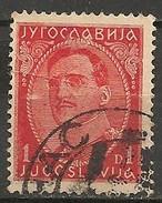 Timbres - Yougoslavie - 1931 - 1 D - N° 213 A - - 1931-1941 Royaume De Yougoslavie
