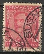 Timbres - Yougoslavie - 1932 - 1.5 D - N° 214 B - - 1931-1941 Royaume De Yougoslavie