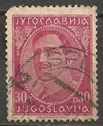 Timbres - Yougoslavie - 1931 - 30 D - N° 221 - - 1931-1941 Royaume De Yougoslavie