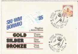 ITALIA BORMIO 1985 CAMPEONATO MUNDIAL DE SKI ALPINO DEPORTE ESQUI