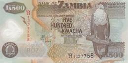 (B0419) ZAMBIA, 2011. 500 Kwacha. P-43h. Polymer. UNC - Zambia