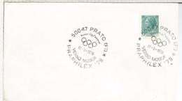 ITALIA PRATO 1979 JUEGOS OLIMPICOS DE MOSCU 1980 - Verano 1980: Moscu