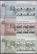 2003 FEUILLETS    N° 1096 à 1100  + 2004 N° 1137     OBLITERES      CATALOGUE  ZUMSTEIN