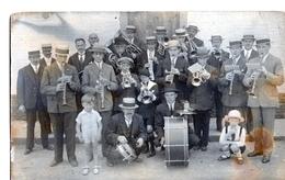 Photo RANSART Charleroi Fanfare Mileu 30' Cachet Stalag X Prisonnier De Guerre - Lieux