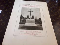 Estampe Paroisse De Fraize Vosges 1936 Souvenir De Mission 1936 Missionnaires Diocèsain - Images Religieuses