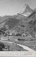 ZERMATT → Sehr Schöne Gesamtansicht, Lichtdruck Ca.1900 - VS Wallis