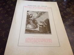 Estampe Paroisse De Fraize Vosges 1930 Notre Dame De Saint Die Vosges - Images Religieuses