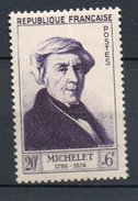 FRANCE 1953 - Jules Michelet - N° 949** - Neufs