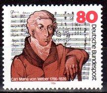Bund 1986 Mi. 1284 ** Carl Maria Von Weber Postfrisch (6084)
