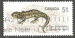 Sc. # 2173b Endangered Species #1, Blotched Tiger Salamander, Ex. Souvenier Sheet Single Used 2006 K238