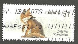 Sc. # 2173d Endangered Species #1, Swift Fox, Ex. Souvenier Sheet Single Used 2006 K240