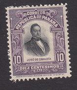 Panama, Scott #201, Mint Hinged, Obaldia, Issued 1909 - Panama