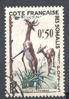 COSTA  DEI SOMALIS    1958 Fauna  * - (o)    Litocranius Walleri - Gebruikt