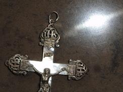 Beau Pendentif Christ Sur La Croix - Religión & Esoterismo