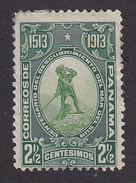 Panama, Scott #202, Mint Hinged, Balboa Sighting Pacific, Issued 1913 - Panama