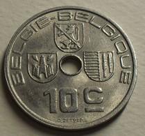 1939 - Belgique - Belgium - 10 CENTIMES,  LEOPOLD III, Légende Belgie-Belgique, KM 113.1 - 02. 10 Centimes