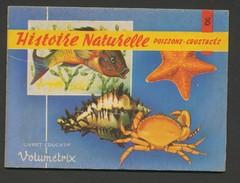 VOLUMETRIX N° 8 - HISTOIRE NATURELLE - Poissons-crustaces - Livres, BD, Revues