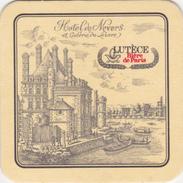"""SOUS BOCK  --- """"LUTECE Bière De PARIS - Hôtel De Nevers""""  - Rien Au Dos - Sous-bocks"""