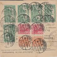DR INFLA 1920 PAKETKARTE  BERLIN SCHÖNEBERG     PARIS  Mif 8DM   PK6 - Germany