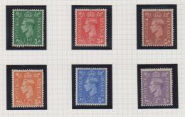 1937 - 1947 Definitives - 1902-1951 (Könige)