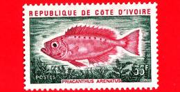 Nuovo - MNH - COSTA D´AVORIO - 1973 - Pesci - Vita Marina - Fish - Priacanthus Arenatus - 35 - Costa D'Avorio (1960-...)