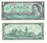 Canada 1 Dollar P-84b 1967 Commemorative UNC - Canada