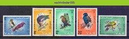 Mza030 FAUNA VOGELS WOODPECKER BATALEUR DOVE * OVERPRINT POSTAGE DUE * BIRDS VÖGEL AVES OISEAUX QWM 1966 PF/MNH # - Collections, Lots & Séries