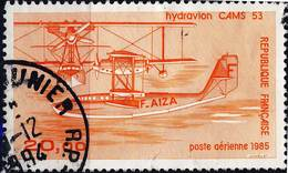 PA 58  HYDRAVION CAMS 53 OBLITERE   ANNEE 1985 - Airmail