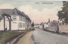 Fosses - Faubourg De Lège (animée, Colorisée, Edit. Hainaut-Rossomme) - Fosses-la-Ville